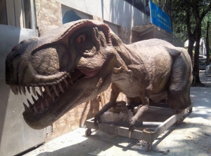 China T-rex Life Size Realistic Dinosaur Costume on sale