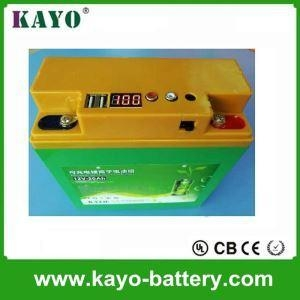 China 12.8V 20Ah High Quality Lifepo4 Battery With BMS Battery For UPS Battery Lead Acid Battery Replaceme on sale