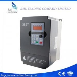 China 380v/220V 5.5kw VFD Variable Frequency Drive Inverter / VFD 3HP Input CNC spindle Driver on sale