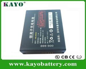 China Water Proof Case POS Battery, Pos Battery Supplier And Manufacturers 3.7V 2800mah Customize Battery supplier