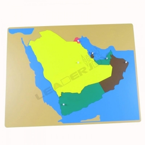 China Puzzle Map of Middle east on sale