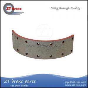 China 1308 brake shoe lining on sale