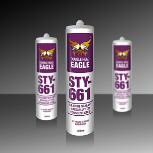 China STY-661 Silicone Sealant Specially for Stainless Steel on sale