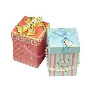 China Decorative Christmas Gift Boxes Small Size Cardboard Box on sale
