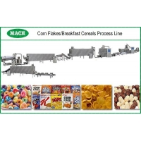 Corn Flakes Breakfast Cereals Process Line