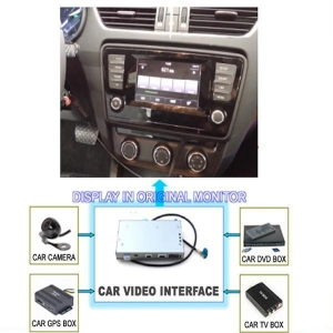 China GPS Navigation VW MQB Car Video Interface Golf7 Passat 2014 skoda Octavia on sale