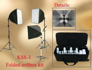 China Folded Softbox kits on sale
