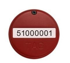 China Coin/Button Size Active RFID Tag on sale
