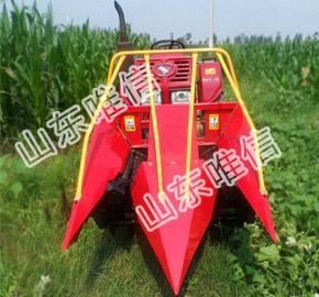 China Small Self-propelled Corn Combine Harvester on sale