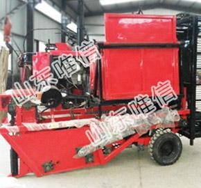 China Crop Tuber Mini Combine Harvester on sale