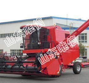 China Tractor Combine Harvester Machine For Maize Corn Forage on sale