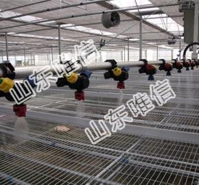 China Mobile Sprinkler Irrigation System In The Greenhouse on sale