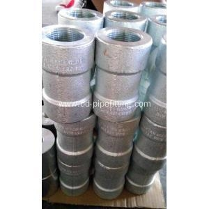 China Stainless Steel Forged Socket Weld Equal Tee on sale
