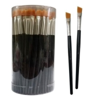 China Deluxe Angled Eyebrow Brush on sale