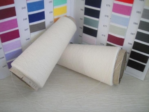 China 30S 100% Combed Melange Grey Cotton Yarn Dope Dyed Knitting and Weaving Yarn Best Sell on sale