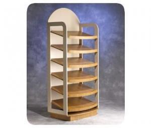 China Countertop display rack MDF Floor Wooden Display on sale