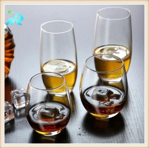 China Novelty Clear Large Acrylic Plastic Colored Cocktail Wine Goblets Glasses on sale