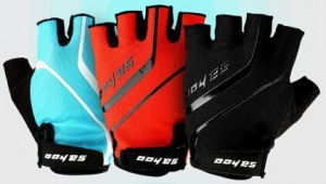 China 26006 GEL Pad Shockproof Bike Gloves,Cycling Half Finger Gloves on sale