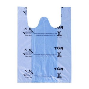 China Recycling Throwaway Bio-degradable Plastic Bags on sale