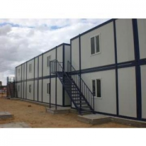 China Fireproof Portable Contemporary Modular Homes Customized 20'' Prefabricated on sale