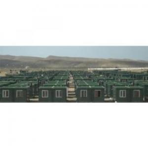 China Portable Contemporary Modular Homes EPS / Rockwool / PU Sandwich Panel on sale