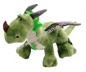 China Dragon Plush Toys|soft Toys Green Plum Blue Yellow Blue Orrange with Wings Custom-made on sale