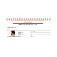 E-Gift Certificates Gift Certificate