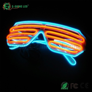 China EL Glowing Glasses on sale