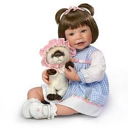 Quality Waltraud Hanl Emma And Baby Boots Lifelike Child Doll for sale