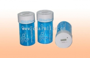 China Electronic Coin Bank Item No.: Plastic Digital Coin Jar Counter on sale