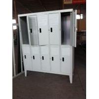 Steel Cupboard Hot Selling Gym Locker 10 Door Wardrobe Metal Locker