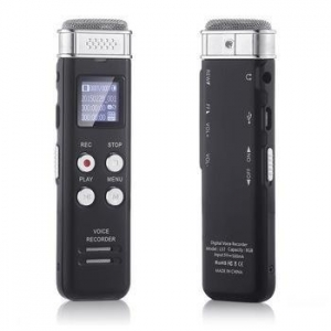 China 8GB Slim Digital Voice Recorder L57 Mini Portable Audio Recorder with MP3 Music Player on sale