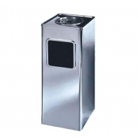 China Aluminum Indoor and Outdoor Commercial Dustbin Garbage Can Recycling Dustbins on sale