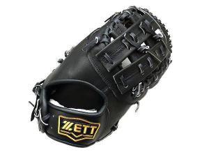China ZETT Pro Elite 13 inch Black First Base Mitt + BONUS US$ 199.99 on sale