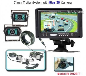 China Mobile DVR RI-7012B-T Trailer System with two Cameras supplier