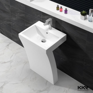 China Italy Style Acrylic Solid Surface Basin KKR-1393 on sale
