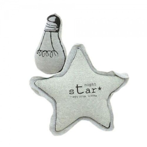 China Baby Luminous Toys Twinkling Star and Bulb Pillows for Kids Bedding Room Stuffed Plush Light Bulb To on sale