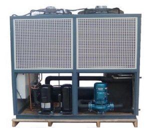 China Air cooled chillers Air cooled box(closed)type chiller on sale