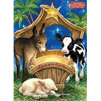 China Peace on Earth Chocolate Advent Calendar (Countdown to Christmas) on sale