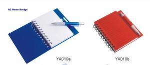 China Stationery YA010 Spiral Notebook with Pen set on sale
