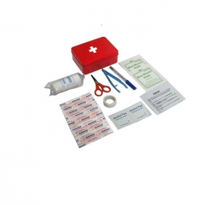 China Tin Box First Aid Kit CE Certficate on sale