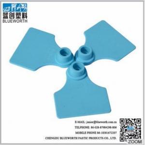China 2017 top sale custom goat/sheep ear tag on sale