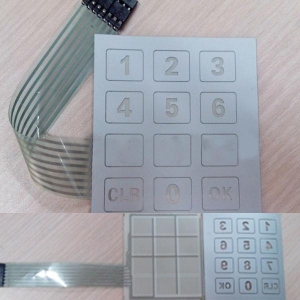 China Flexible Circuit Connector Matrix Touch Screen Keyboard on sale