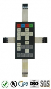 China Remote Control Application of A Number Of Connection Film Membrane Switch Keyboard on sale