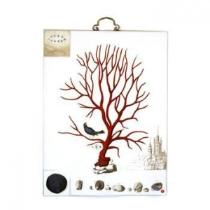 China Coral Ceramic Wall Art on sale