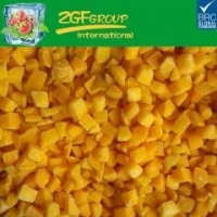 China IQF DICED YELLOW PEACH 10MM on sale