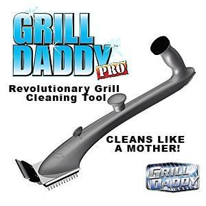 China Grill Daddy Pro Steam Cleaner Scrubber Deluxe on sale