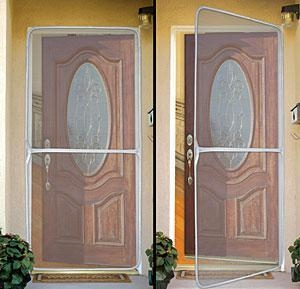 China Instant Screen Door on sale
