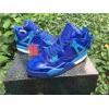 China Authentic AJ4 colour blue patent leather super standard for sale
