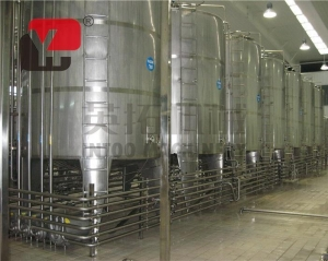 China Blueberry wine fermentation beverage production line on sale